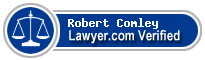 Robert Alexander Comley  Lawyer Badge