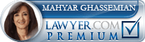 Mahyar Ghassemian  Lawyer Badge