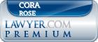 Cora Lea Rose  Lawyer Badge