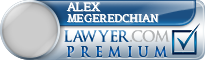 Alex Megeredchian  Lawyer Badge