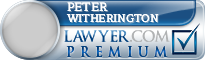 Peter Riley Witherington  Lawyer Badge