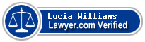 Lucia Angelique Williams  Lawyer Badge