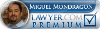 Miguel Mondragon  Lawyer Badge