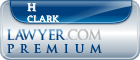 H Chandler Clark  Lawyer Badge