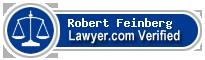 Robert J Feinberg  Lawyer Badge