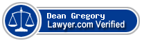 Dean Gregory  Lawyer Badge
