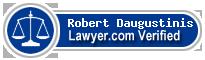 Robert Daugustinis  Lawyer Badge
