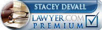 Stacey DeVall  Lawyer Badge