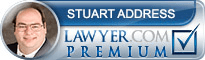 Stuart M Address  Lawyer Badge
