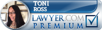 Toni B. Ross  Lawyer Badge