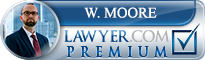 W Clint Moore  Lawyer Badge