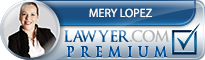 Mery Lopez  Lawyer Badge