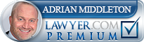 Adrian Middleton  Lawyer Badge