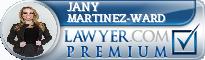Jany Martinez-Ward  Lawyer Badge