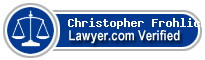 Christopher Eric Frohlich  Lawyer Badge