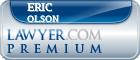 Eric S. Olson  Lawyer Badge
