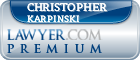 Christopher John Karpinski  Lawyer Badge