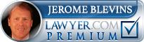 Jerome Barton Blevins  Lawyer Badge