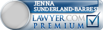 Jenna Marie Sunderland-Barresi  Lawyer Badge