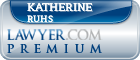 Katherine Foley Ruhs  Lawyer Badge