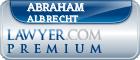 Abraham S. Albrecht  Lawyer Badge