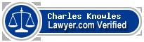 Charles Kristopher Knowles  Lawyer Badge