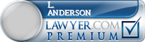 L. C. Anderson  Lawyer Badge