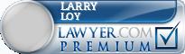 Larry Dan Loy  Lawyer Badge