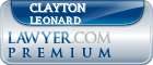 Clayton Robert Leonard  Lawyer Badge