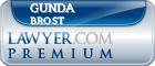 Gunda Johanna Brost  Lawyer Badge