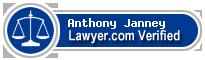 Anthony Hugh Janney  Lawyer Badge