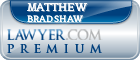 Matthew V. Bradshaw  Lawyer Badge