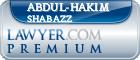 Abdul-hakim Shabazz  Lawyer Badge