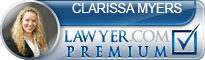 Clarissa Myers  Lawyer Badge