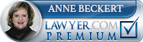Anne Beckert  Lawyer Badge