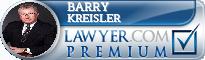 Barry Kreisler  Lawyer Badge