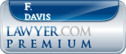 F. Patrick Davis  Lawyer Badge