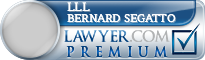 Lll Bernard Segatto  Lawyer Badge