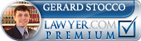 Gerard Martin Stocco  Lawyer Badge