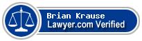Brian Krause  Lawyer Badge