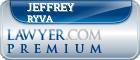 Jeffrey Alan Ryva  Lawyer Badge