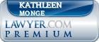 Kathleen Marie Monge  Lawyer Badge