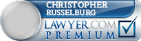 Christopher Russelburg  Lawyer Badge