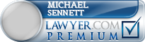 Michael Sennett  Lawyer Badge