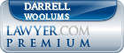 Darrell Woolums  Lawyer Badge