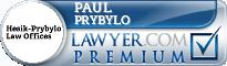 Paul J. Prybylo  Lawyer Badge