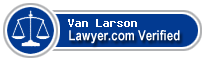 Van Anthony Larson  Lawyer Badge