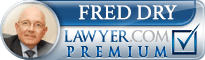 Fred Dry  Lawyer Badge