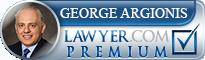 George Argionis  Lawyer Badge