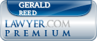 Gerald Reed  Lawyer Badge